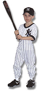 Uniform with V-neck pinstripe Jersey - $26.95